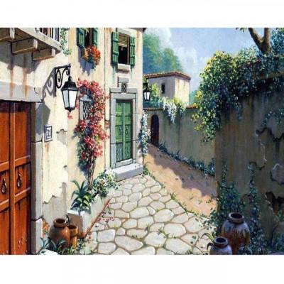 Kit pictura pe numere cu peisaje, DTP3083